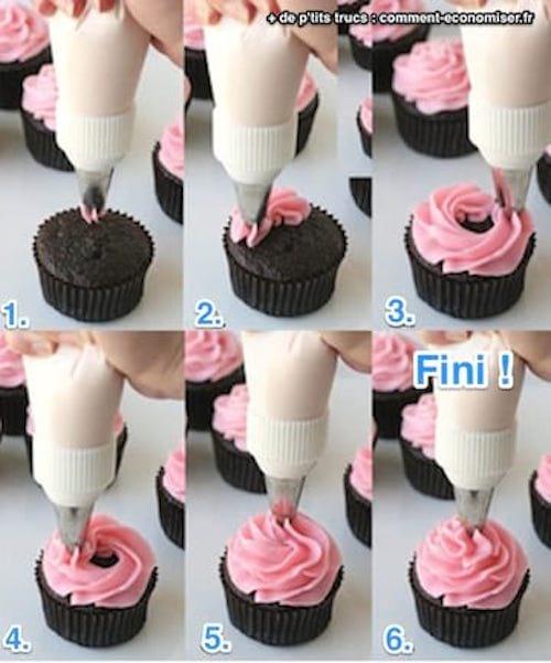 L Astuce Qui Vous Dit Enfin Comment Faire Le Glacage D Un Cupcake