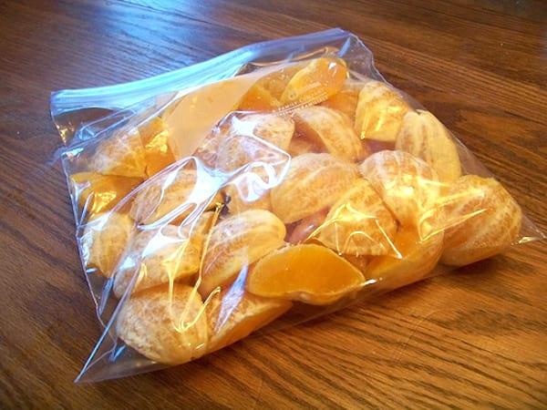 comment congeler les oranges