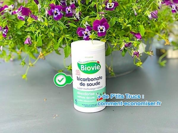 Le bicarbonate élimine les odeurs de transpiration.