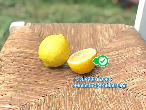 comment nettoyer un meuble avec du citron