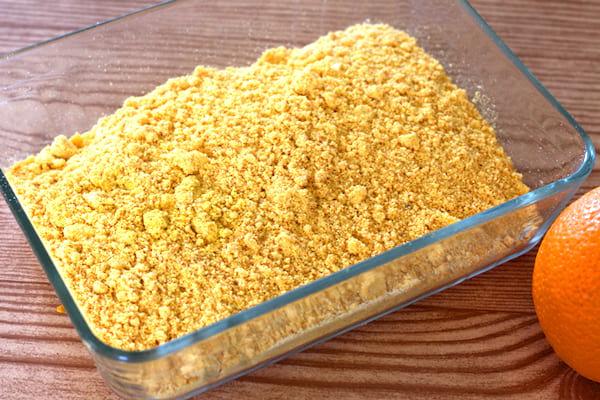 comment faire du zeste d'orange en poudre