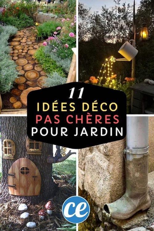 11 Superbes Idées Déco Pour Votre Jardin (Pas Chères Et ...