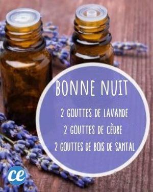 mélange huiles essentielles pour mieux dormir