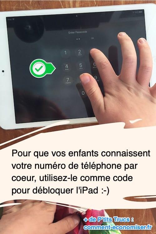 L'astuce pour que vos enfants connaissent votre numéro de téléphone par coeur