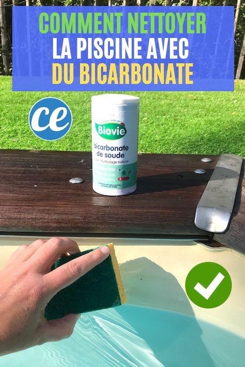 Comment nettoyer et entretenir le liner de la piscine pleine ou vide avec du bicarbonate facilement. Cliquez ici !