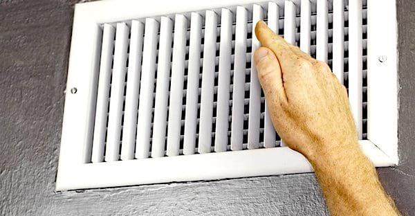 Vous avez trop chaud ?  Inversez l'aération de votre chauffage central.