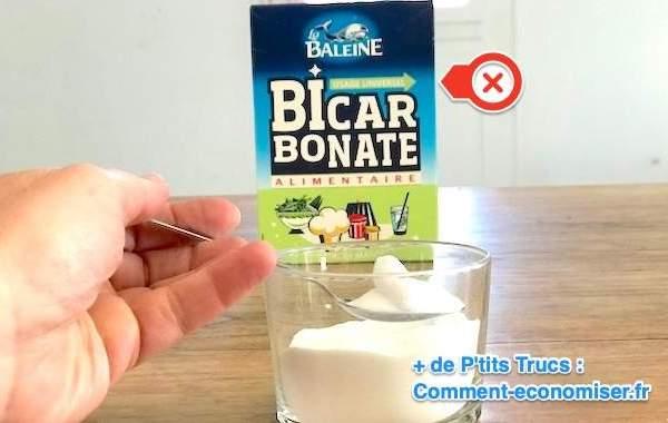 Les mauvaises utilisations du bicarbonate de soude