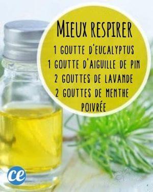 mélange d'huiles essentielles contre le rhume des foins