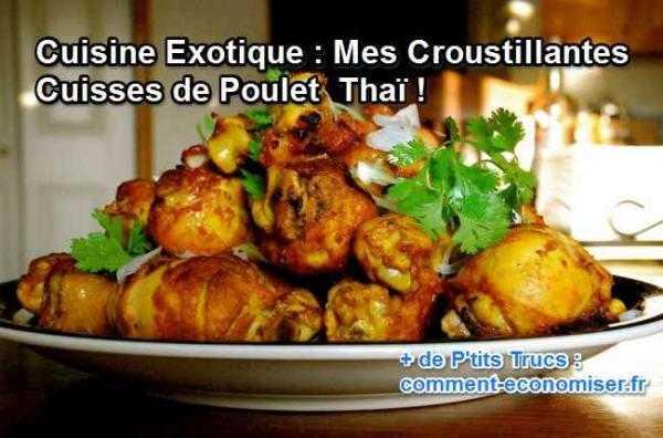 recette thai de poulet