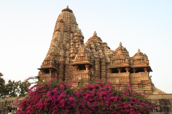 les somptueux temples de Khajuraho en Inde