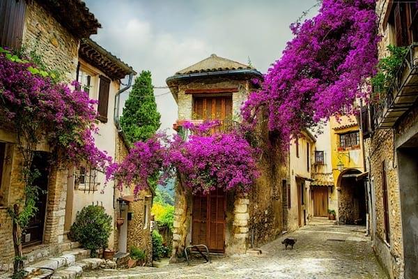 Les belles villes de provence en France