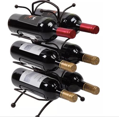 Casier à vin en métal