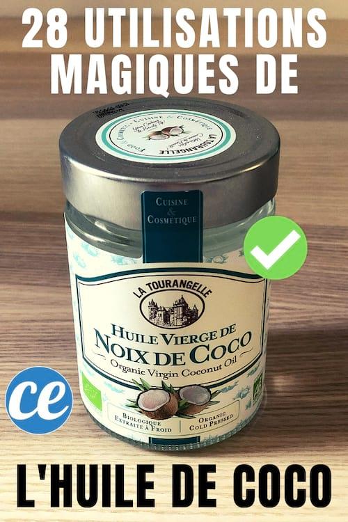 toutes les utilisations et bienfaits de l'huile de coco vierge pour les cheveux, la cuisine et le quotidien