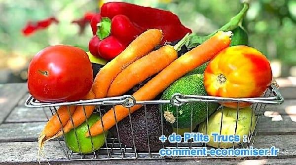 la liste des fruits et des legumes qui contiennent le moins de pesticides