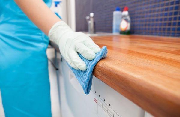 Étape 4 nettoyez toutes les surfaces