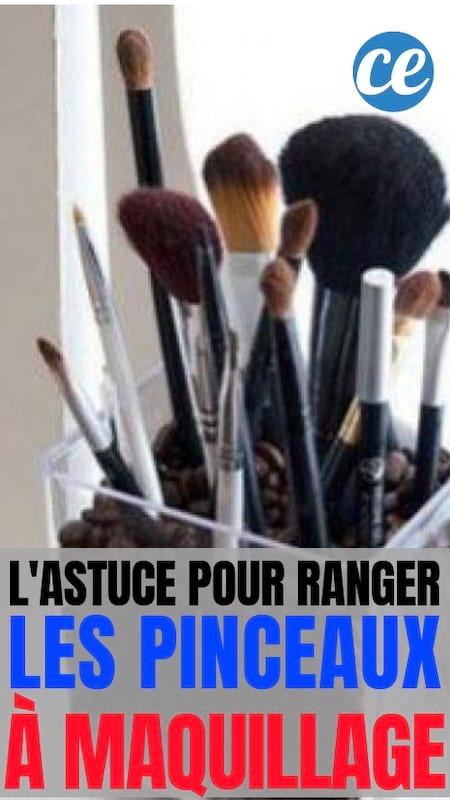 Astuces pour ranger ses pinceaux à maquillage