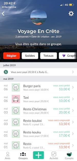 Splitwise la meilleure app pour faire les comptes entre amis en vacances