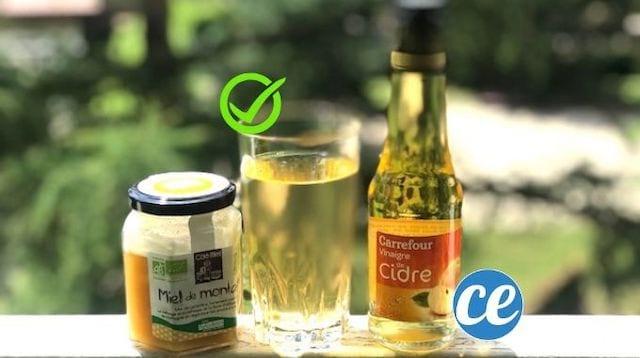 Utilisez un remède à base de miel et de vinaigre de cidre pour stopper la diarrhée