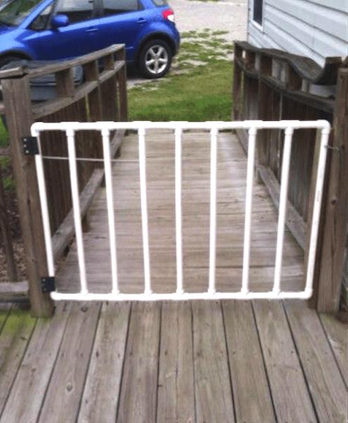portail facile à faire tuyau PVC