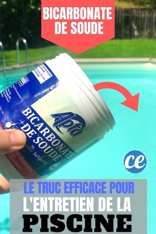 L'astuce pour entretenir la piscine avec du bicarbonate