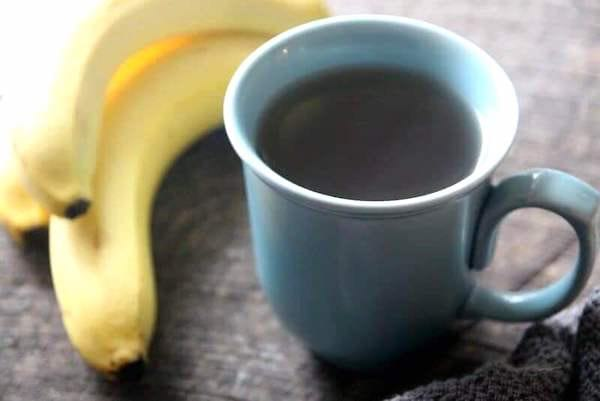 tisane de peaux de banane