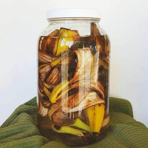 faire vinaigre de peau de banane recette facile