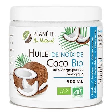 Acheter huile de coco pas cher sur internet