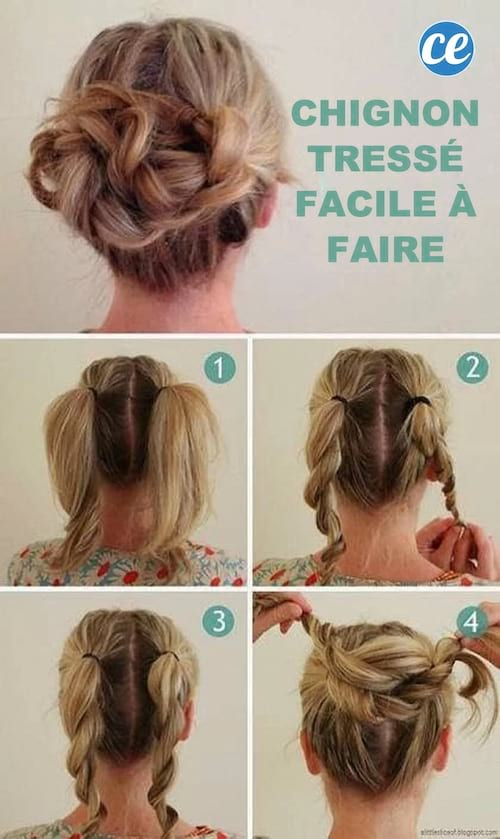 25 coiffures express pour les pressées du matin (5 min max !).