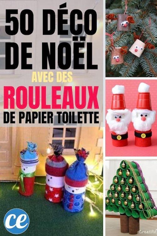 50 Super Decorations De Noel Avec Des Rouleaux De Papier