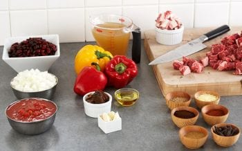 ingredients chili con carne