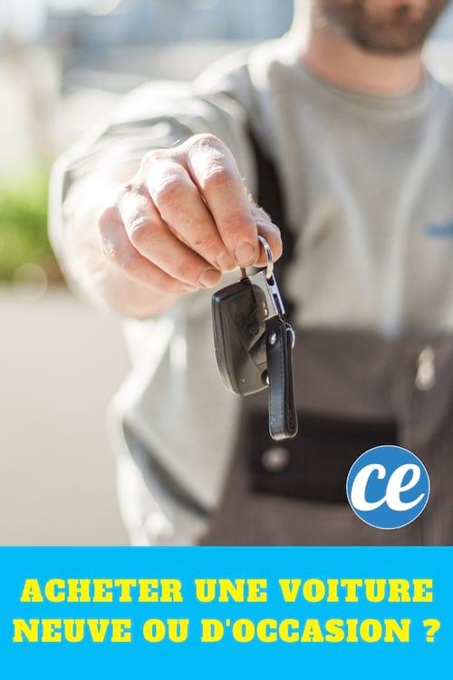Acheter une voiture neuve ou d'occasion