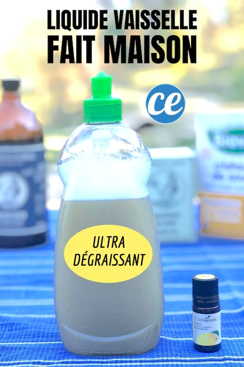 Comment Faire Votre Liquide Vaisselle Ultra Degraissant Facilement