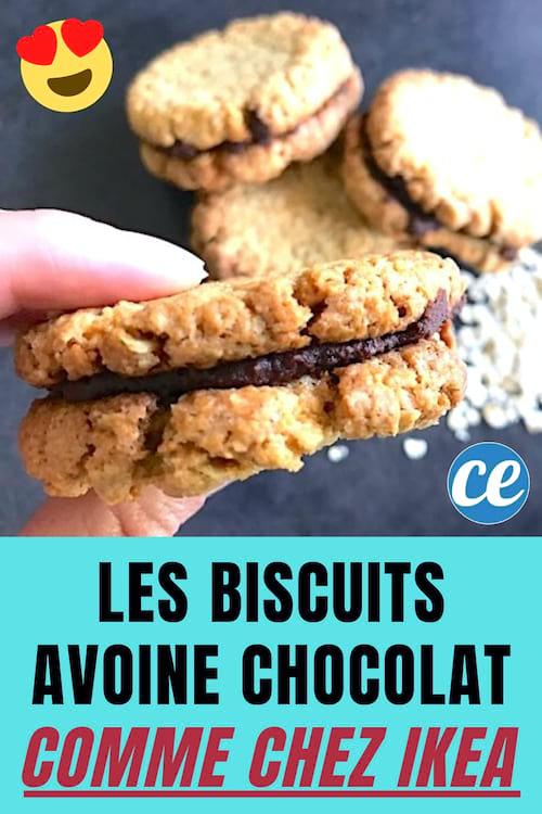 La Recette Des Biscuits Avoine Chocolat Comme Chez Ikea Enfin Devoilee