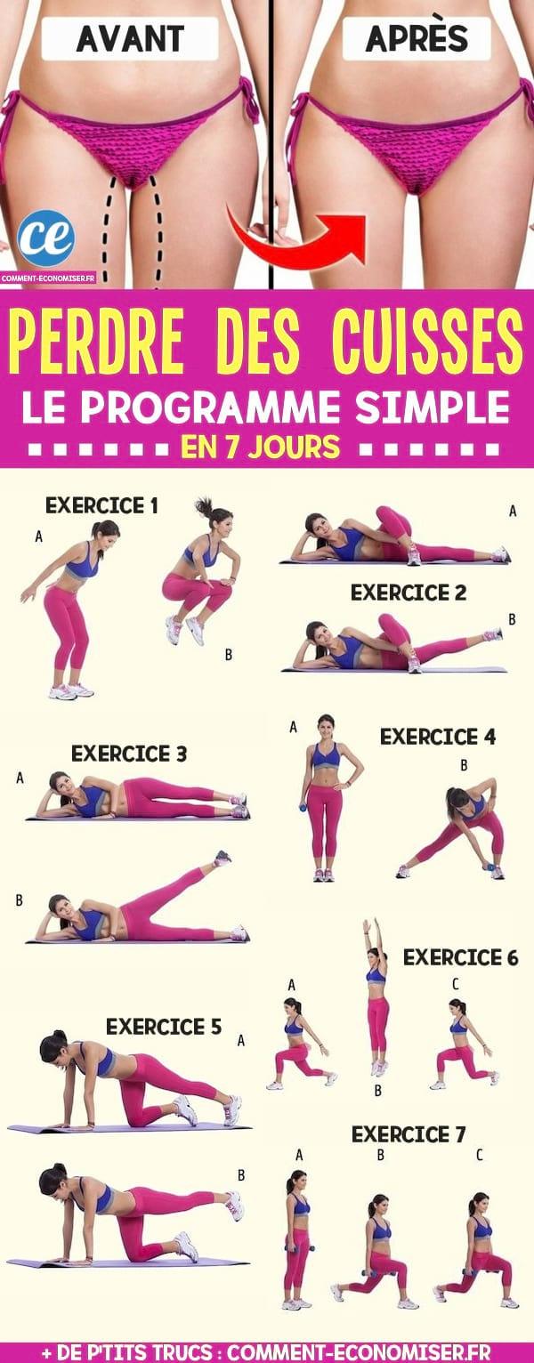 5 Exercices Faciles Pour Avoir des Fesses, Abdos et Cuisses En Béton.