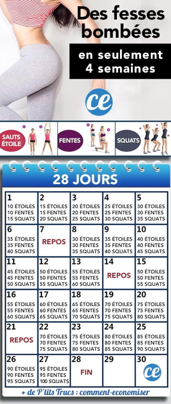 5 Exercices Faciles Pour Avoir Des Fesses Abdos Et Cuisses En Beton