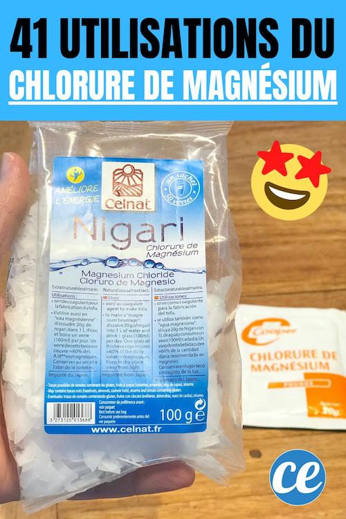 41 Usi del cloruro di magnesio.