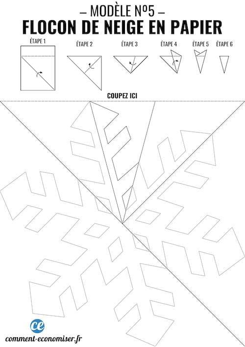Comment Faire Des Flocons De Neige En Papier Le Tuto Facile Pour Noel