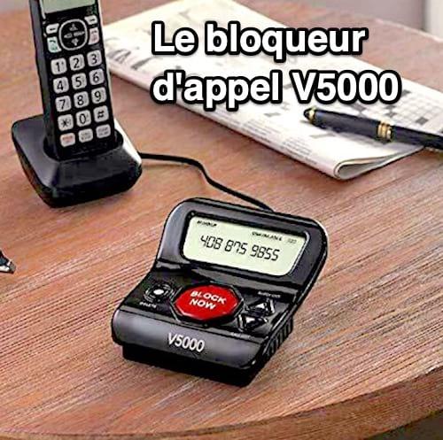 Le bloqueur d'appels V5000
