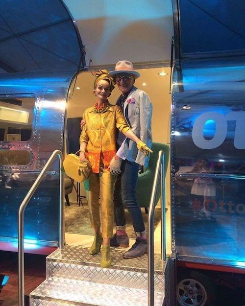 Couple allemand dans une caravane