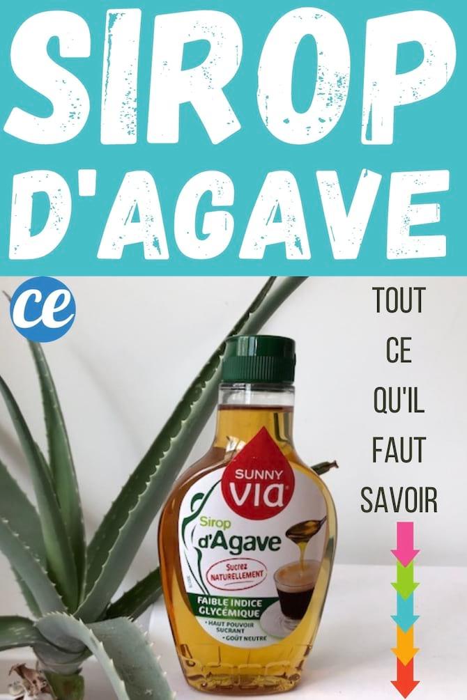 que faire avec du sirop d'agave ?
