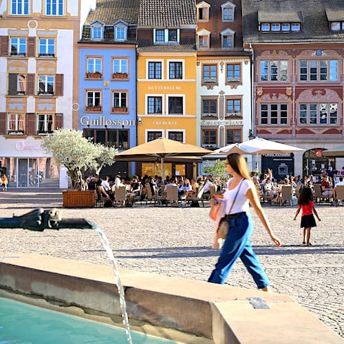 Mulhouse grande ville française au loyer pas cher