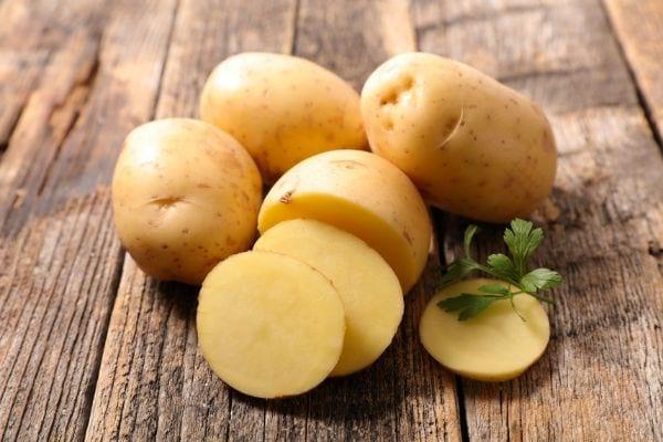 rondelles de pommes de terre