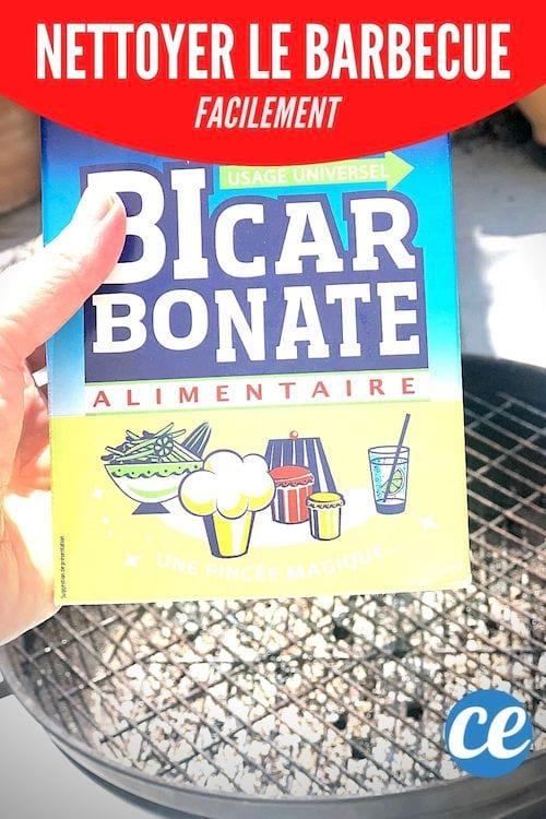 Du bicarbonate de soude pour nettoyer le barbecue et la grille facilement