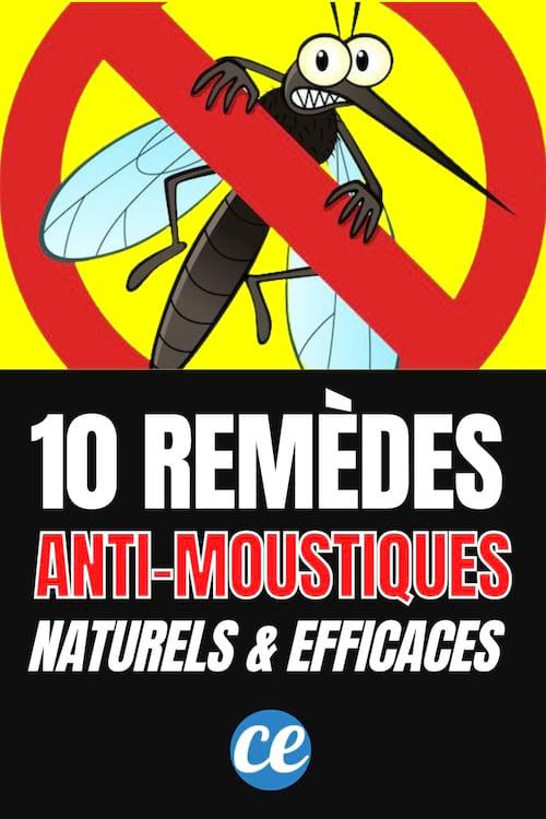 Voici comment éloigner les moustiques avec 10 ingrédients 100% naturels.