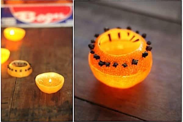 Une bougie à la citronnelle pour se débarrasser des mouches quand on mange dehors