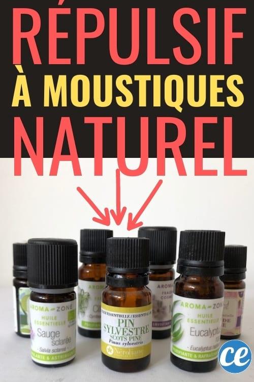 recette huile anti-moustiques naturelle maison