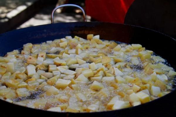 Des patates sautées à la poele