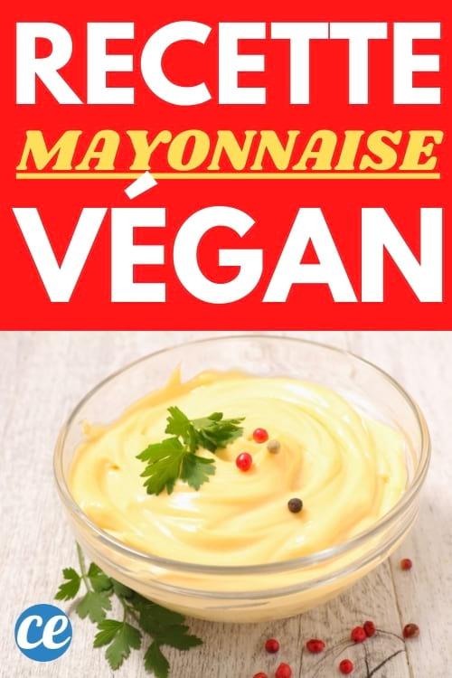 recette mayonnaise sans oeufs facile et sans pois chiche