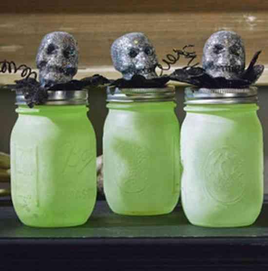 lampion tete de mort pour halloween