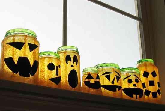 pot jack o lantern halloween